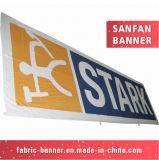 Drapeau s'arrêtant de frontière de sécurité des prix de Digitals de tissu bon marché d'impression pour la promotion