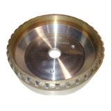 Roue de cuvette de diamant pour la ligne droite en verre machine taillante