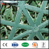 Sunwing Special Plastic Artificial White Leaf Wall Fence для сада