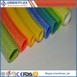 Boyau de tissu-renforcé de PVC de lutte contre l'érosion non-toxique