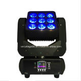 9 diodo emissor de luz novo Moving Head Matrix Beam Lighting de Pieces 10W 3X3
