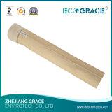 saco de filtro da filtragem de pano da fibra de vidro do comprimento de 2000mm