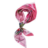 Die roten Blumen druckten Schal für Frauen
