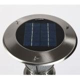 lumières solaires de jardin d'intense luminosité de 3W DEL avec la batterie au lithium 3.7V5ah