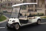 4 Sitzer White Electric Patrol Auto
