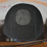 Volle Handtied jüdische Remy Haar-Perücke