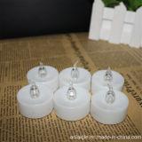 Decoración de la boda té luz velas LED Timer vela