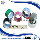 De calidad superior con la cinta de poco ruido adhesiva del embalaje del derretimiento caliente BOPP