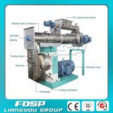 CE Approved Large Capacity Pellet Mill con Highquality Ring Die
