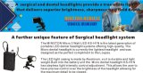 LEDのヘッドライト、E.N.Tランプ、3Wヘッドランプのための医学ライトKs-H1nクランプタイプ、外科部屋、口腔病学、獣医、Dermatologist