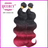 Волосы Omber продуктов человеческих волос объемной волны Remy горячего продукта индийские