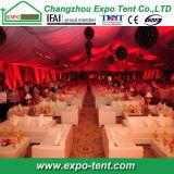 Tenda della tenda foranea della festa nuziale delle 1000 genti nel Pakistan