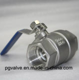 2PC Thread 1000wog api Floating Ball Valve con Highquality