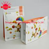 De vierkante Vlakke Zak van de Verpakking van het Voedsel van de Hoekplaat van de Bodem Zij met FDA Certificatie