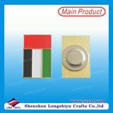 Metalldecklack-Magnet-Namensabzeichenkundenspezifisches Pin-Abzeichen