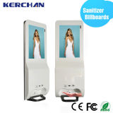 19 Inch Android Digital Signage mit Hand Sanitizer Dispenser