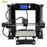 Kit della stampante di uso 3D della casa e dell'ufficio con lo schermo dell'affissione a cristalli liquidi, la scheda di deviazione standard & del USB