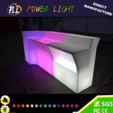 LED 가구 플라스틱에 의하여 분명히되는 바 카운터