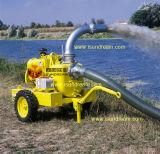 Hochleistungsschlußteil eingehangene Dieselmotor-Abwasser-Wasser-Pumpe
