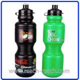 Gli sport imbottigliano, bottiglia di acqua bevente di plastica (R-1144)