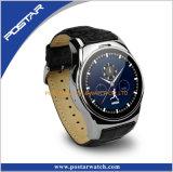 タッチ画面のスマートな腕時計のBluetoothの腕時計