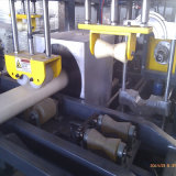 Línea de la protuberancia del tubo del PVC con el estirador de tornillo doble