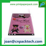 Brickshaped a feuilleté le sac polychrome de papier d'impression