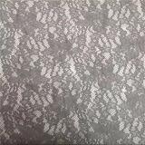 Tela de nylon do laço do estiramento para os vestidos bonitos (1608)