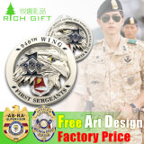 Custom militare Metal Badges per Soldier su Day del Party