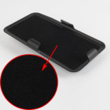 Future caisse noire de téléphone d'armure avec le support de clip ceinture et de dos