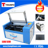 고무 도장 또는 사진 Laser 조판공 2 바탕 화면 Tr6040를 새기는 소형 Laser 조각 기계 또는 Laser