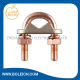 Ground Bronze Clamp Brass Rod a Cable Clamp con Good Quality