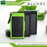 Caricatore mobile solare impermeabile esterno 8000mAh della Banca di potere