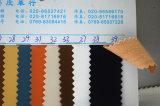 靴、甲革、袋(HS-Y07)のための革靴の穀物のMicrofiberの革