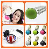 3.5mm Verbinder und verdrahteter Kommunikations-Stereolithographie-Kopfhörer