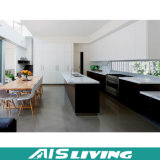 색깔 (AIS-K078) 여러가지 부엌 찬장 가구를 위한 멜라민을%s 가진 PVC 문