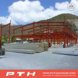 PU-Sandwich Wall Panel Prefab Steel Warehouse
