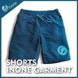 Inone 004 Mens nada calças curtas dos Shorts ocasionais da placa