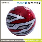De hoogste Bal van het Voetbal van het Leer van pvc van de Rang