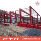 PU Sandwich Panel de pared prefabricada Steel Warehouse