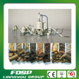 CE Approved 1tph Wood Pellet Production Line com High Efficiency