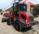 Trator compacto Jinma 4X4 com carregador e retroescavadora