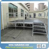 Étape mobile réglable de concert de décoration d'étape de mariage d'étape d'aluminium