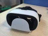 Vidros de realidade virtual 3D coloridos para filme e jogo