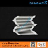 Swabs de algodão de papel para limpeza de componentes eletrônicos