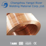 Aws Em12kの銅の上塗を施してあるサブマージアーク溶接ワイヤー (SAWW)2.5mm