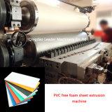 Máquina libre de la protuberancia de la hoja de la espuma del PVC Sjsz80/156