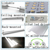 High CRI High Luminous Epistar 30W LED Tube Tri-Proof Light
