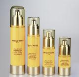 20g 30g 50g como o empacotamento mal ventilado Gold-Plating UV do cosmético do frasco da loção (PPC-ASAB-001)
