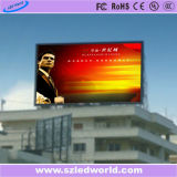 LED 세계 가득 차있는 Clor 옥외 발광 다이오드 표시 위원회 (P6, P8, P10, P16)